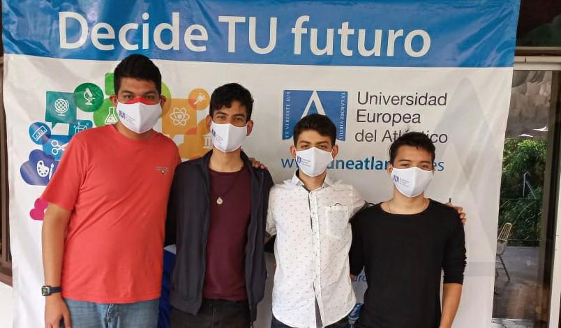 Los alumnos hondureños de nuevo ingreso mantuvieron una reunión para conocer datos y metodología de estudio de UNEATLANTICO