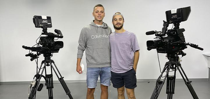 Los alumnos Raúl Naharro y Carlos Castañeda son galardonados en la Semana Internacional de Cine de Santander