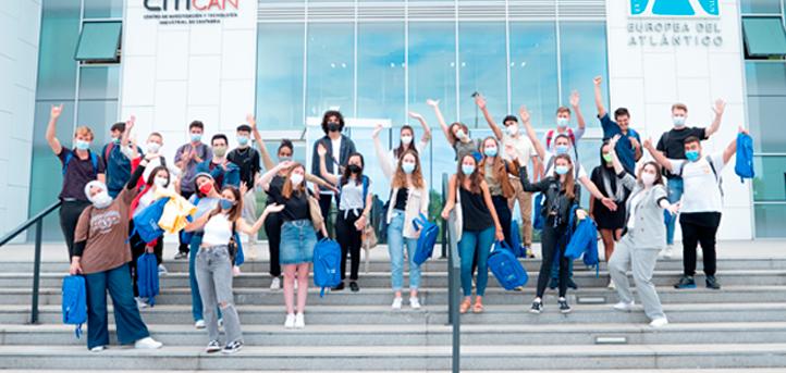 UNEATLANTICO ofreció la bienvenida al campus a un grupo de cuarenta estudiantes que cursarán el programa de movilidad Erasmus