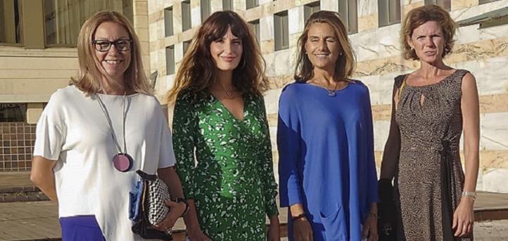 Representación del área de empresas de UNEATLANTICO en los VI Premios Emprendedores de Cantabria